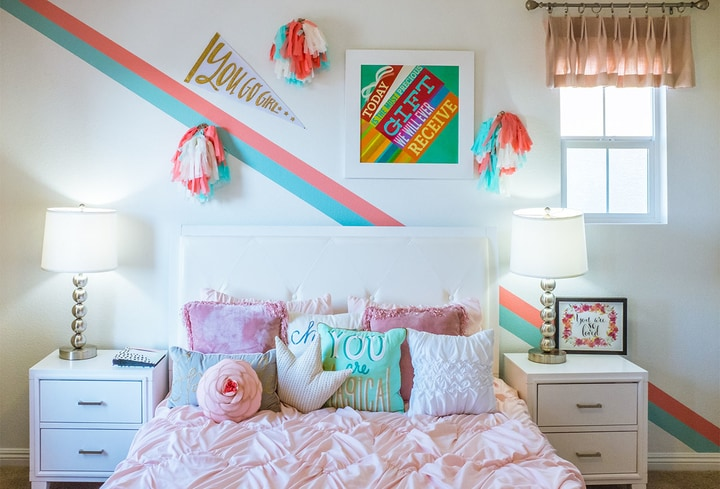 Namuose spalva populiariausia vaikams