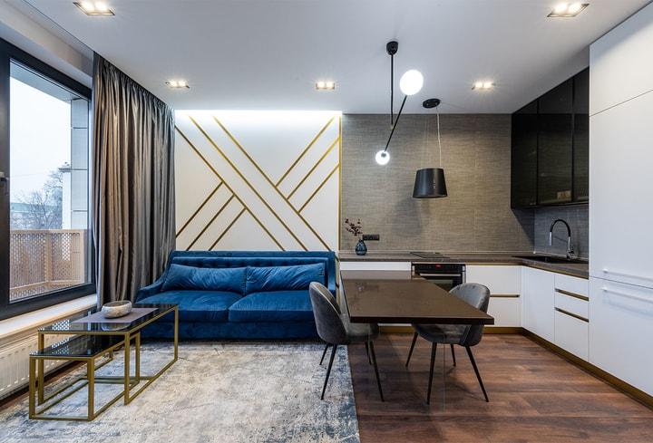 Pilkoms spalvoms namų kambaryje 2022 metų