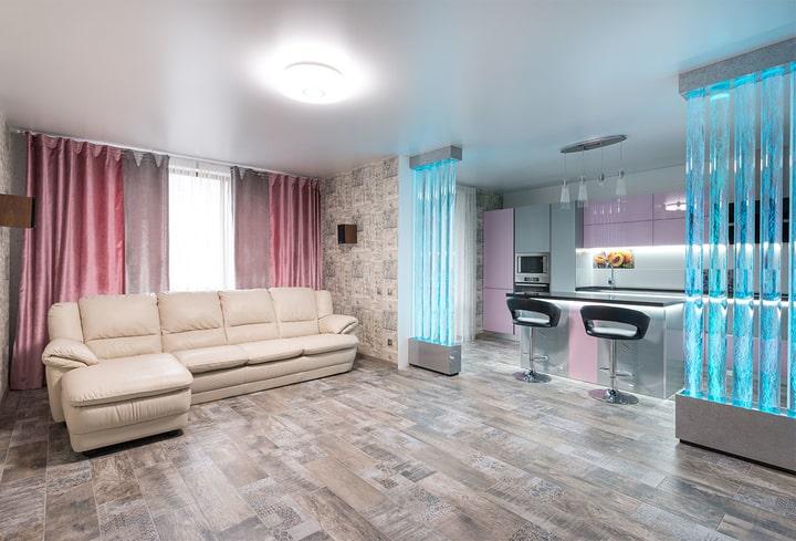 Pirueto šilti atspalviai jauku namuose