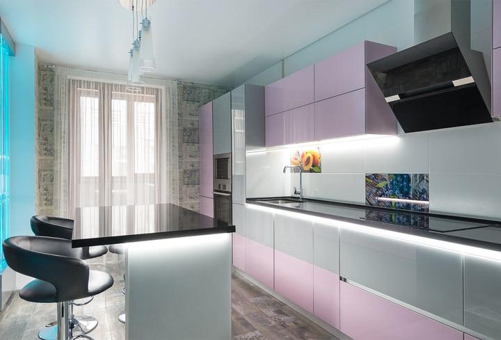 Virtuvės rožinė spalva populiariausia