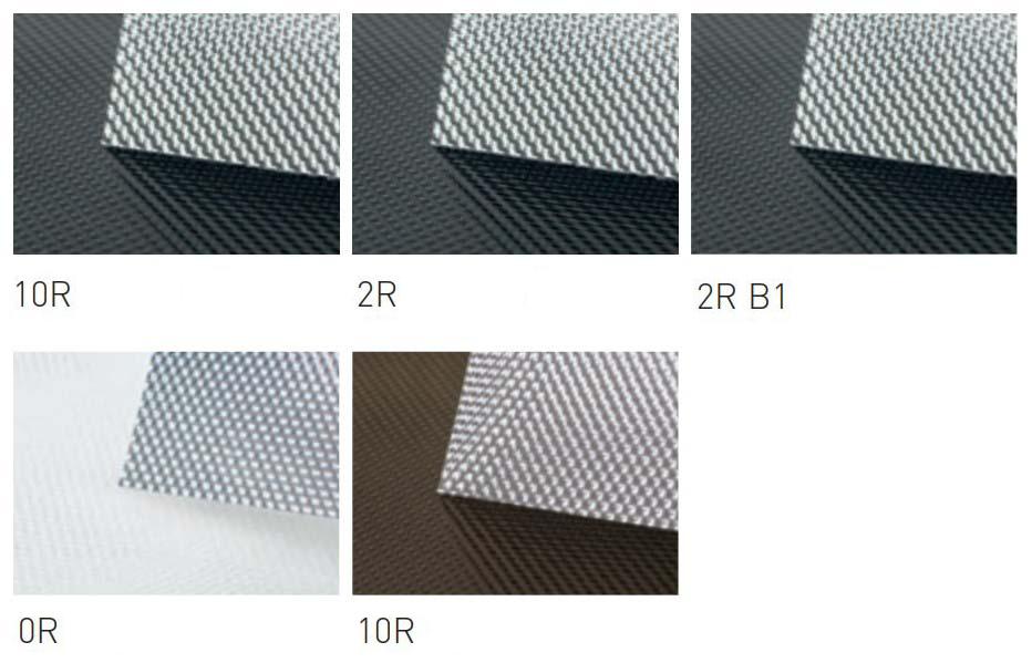Прозрачные свето и жароотражающие ролеты (Glasgard)