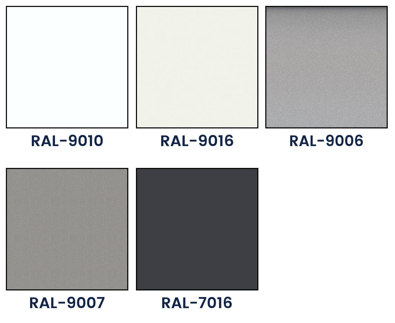 C 50 basic lamellae color palette