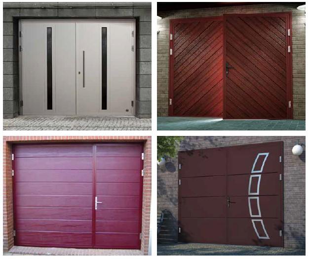 Dvivėriai garažo vartai