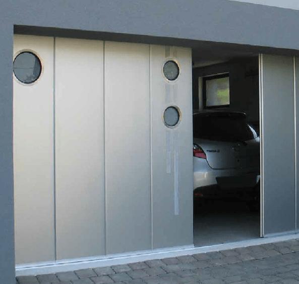 Š soną nuslenkantys garažo vartai
