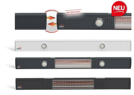 Modulinis infraraudonųjų spindulių šildytuvas-vėsintuvas