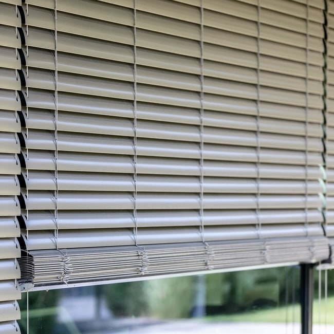 Outdoor blinds home panoramic window