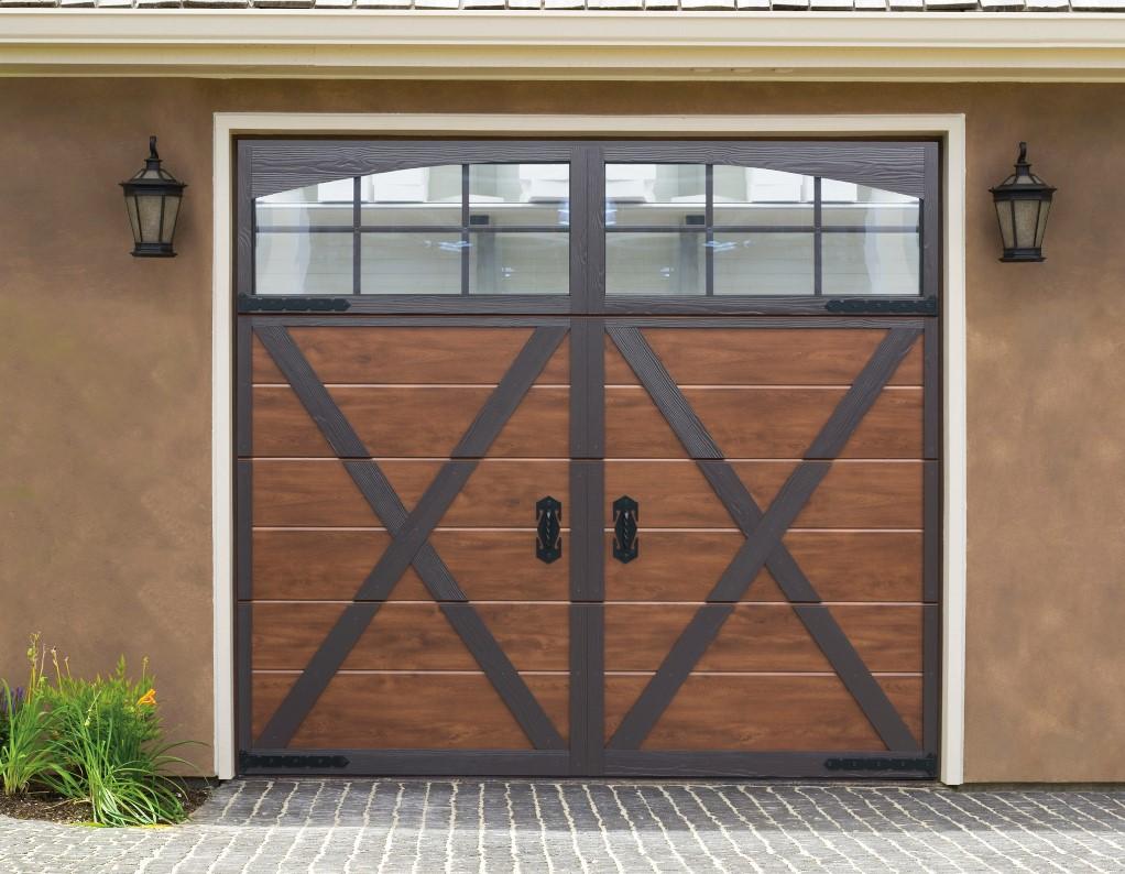 Retro stiliaus garažo vartai