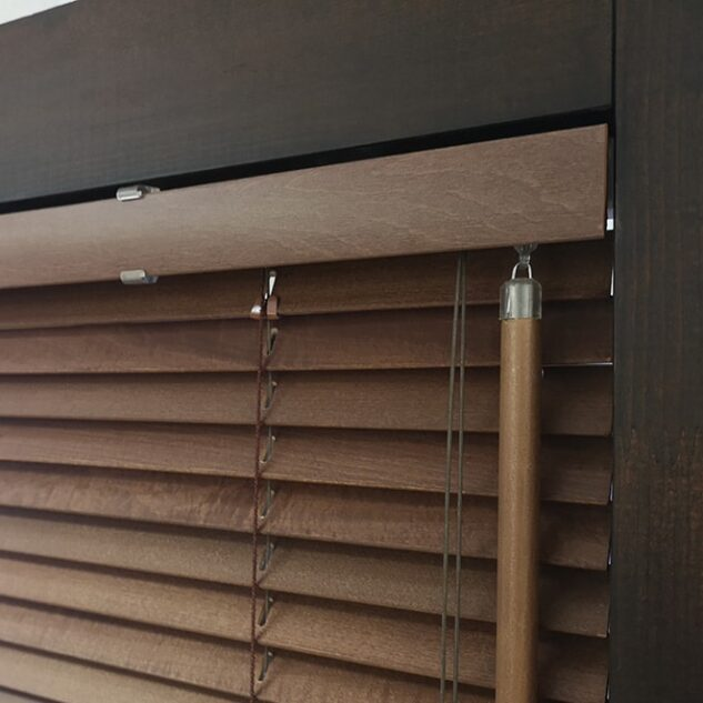 Standard wooden blinds mechanism