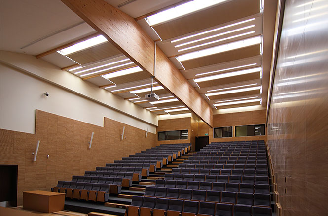 Pavėsinės universitatams komercinėms patalpoms