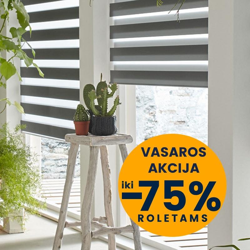 Vasaros nuolaidos roletai langui kaina