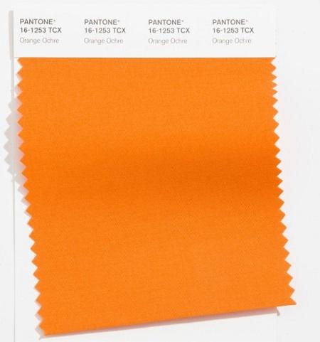 Oranžinis tonas interjerui pagyvinti