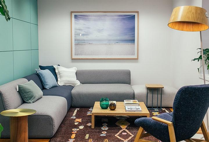 Populiarios namų interjero spalvos žalsva