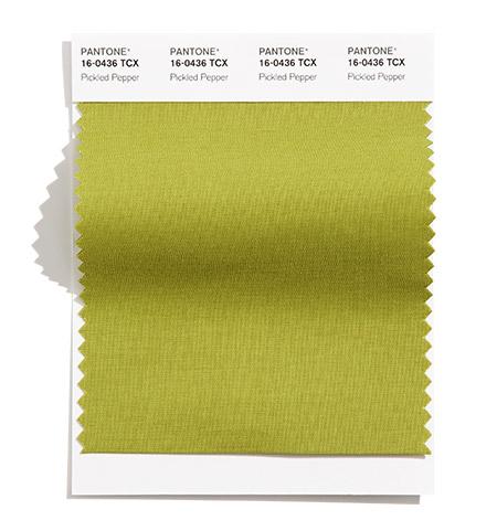 Žalia sodri spalva interjero detalėms